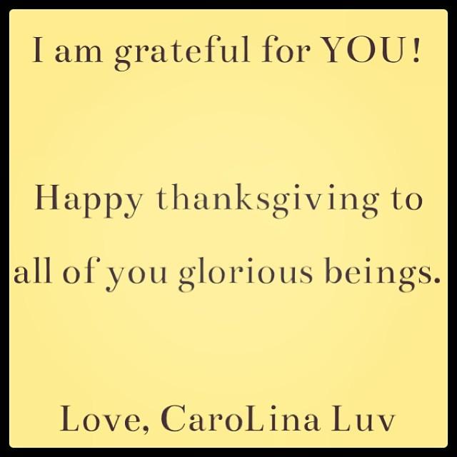 #happythanksgiving #iamgratefulforYOU!