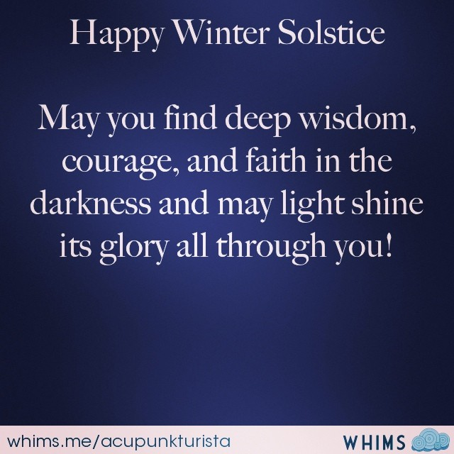 #happywintersolstice #solstice #wintersolstice #wisdom #winterwisdom (at inner space)