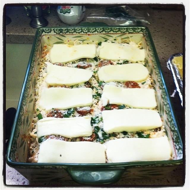 Yes! #lasagna!!!!! #merrychristmas #proudtobeitalian (at Bethlehem, PA)