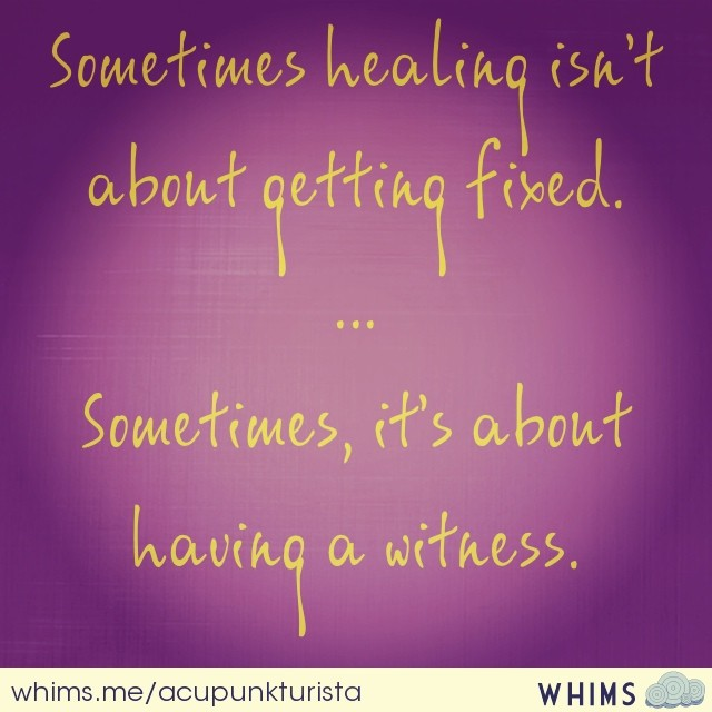 #healingwords #havingawitness #restorativeharmonyacupuncture #healing #healingwithlove (at inner space)