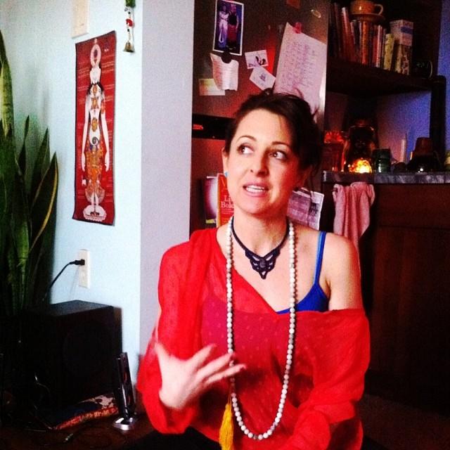Today i spent divinetime with this #littledevi @lllianacamerisss   #goddess #yogateatime (at The Shakti Shack)