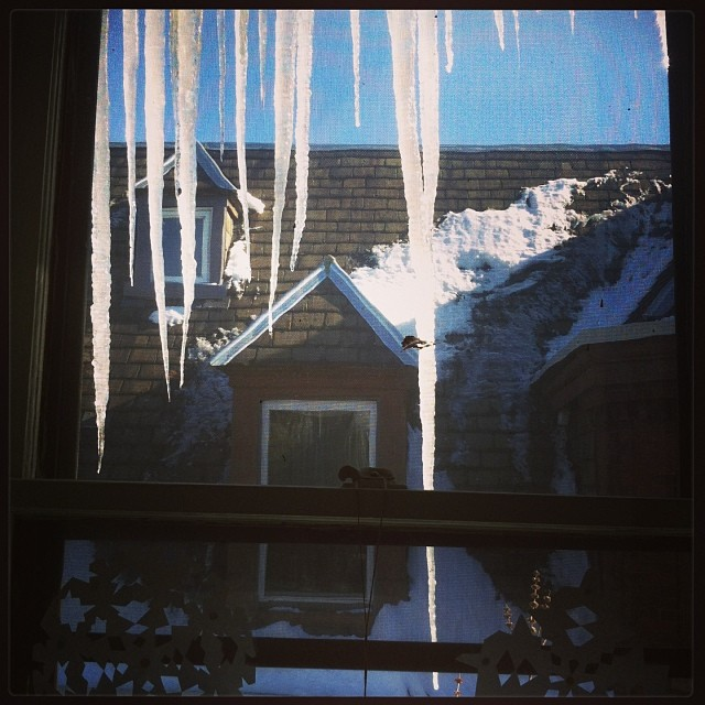 Epic #icicles abound!!! (at Home is where the Heart is)