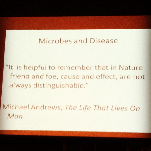 #inspiration from #philadelphiabeekeepersguild #microbes #beekeeping #disease #weareallone (at William Penn Charter School)
