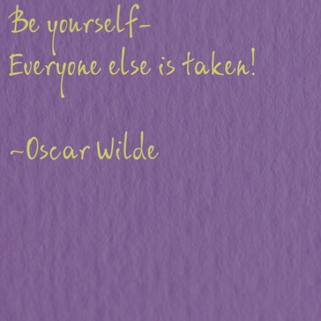 #beyourself #oscarwilde #quote #innerwisdom #restorativeharmonyacupuncture  (at inner space)