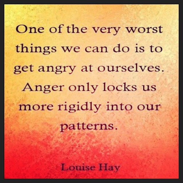 #louisehay #wisdom  #anger #lovethyself #selfempathy (at Wrapped in Love)