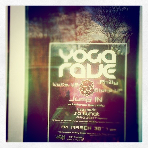 What's ~your~ natural high? #yogarave #yoga (Taken with instagram)