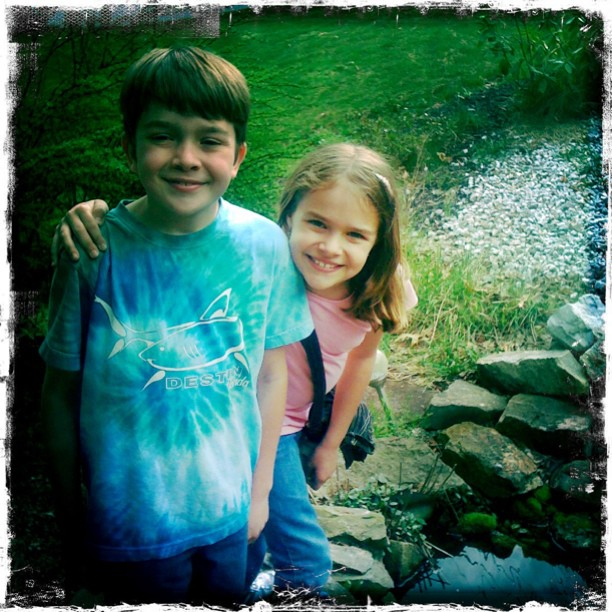 I am the proud auntie of two super cool, #magical people!! #love (Taken with instagram)