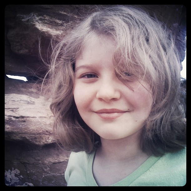Children so easily share their soul with the camera. #gardenofthegods  (Taken with  Instagram  at garden if the god, co)