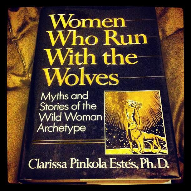 Looking forward to my next read. #womenehorunwiththewolves #wildwoman