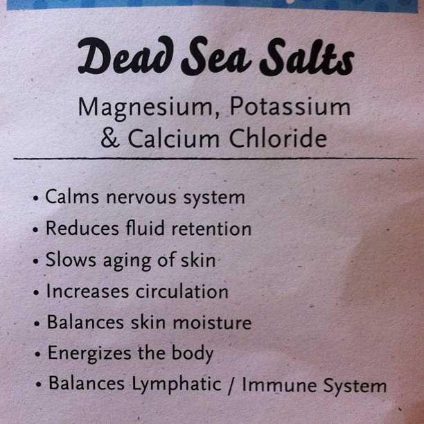 #seasalt baths are incredibly #healing. #healingwithcaroline
