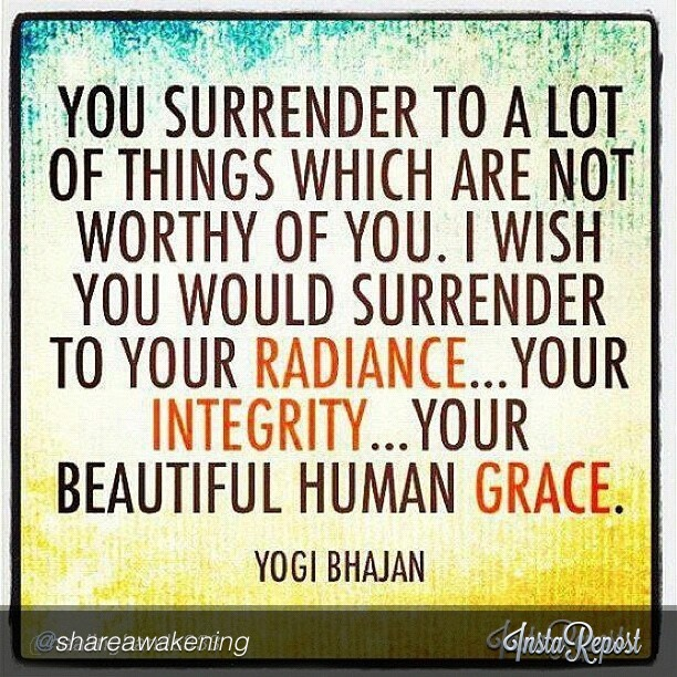 by @shareawakening #youareradiant #yogibhajan #surrender #encouragement