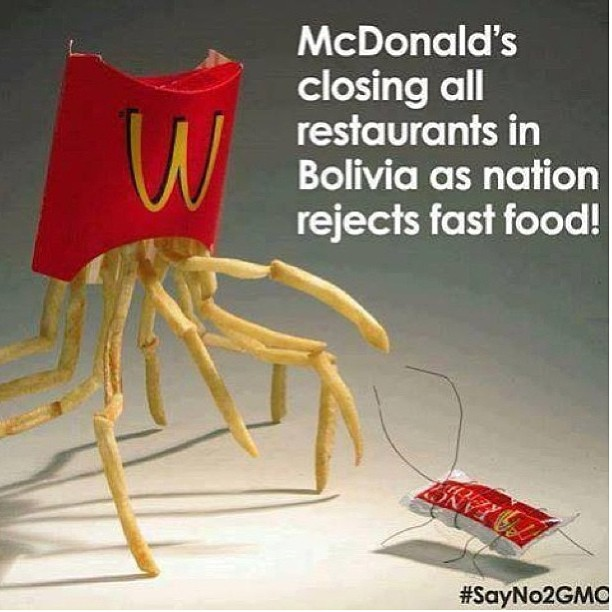 #Downwithmcds #watchbabyloncrumble #downwithgmos hell yeh!!!