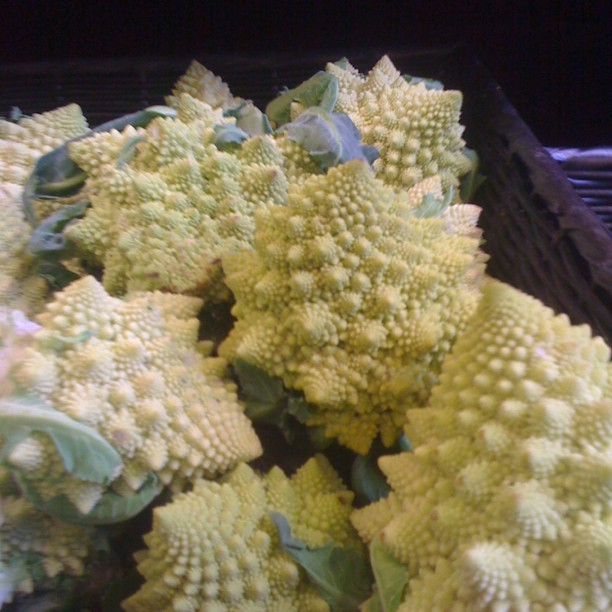#romanesco, my favorite #fractal food! (at Mariposa Market)