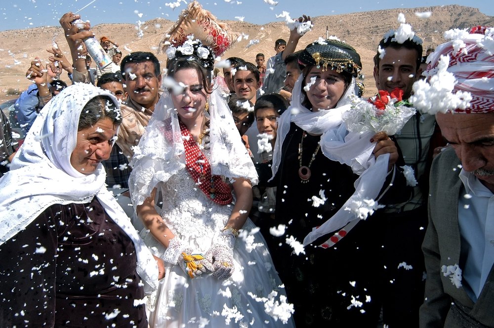 Yazidi Wedding. Northern Iraq