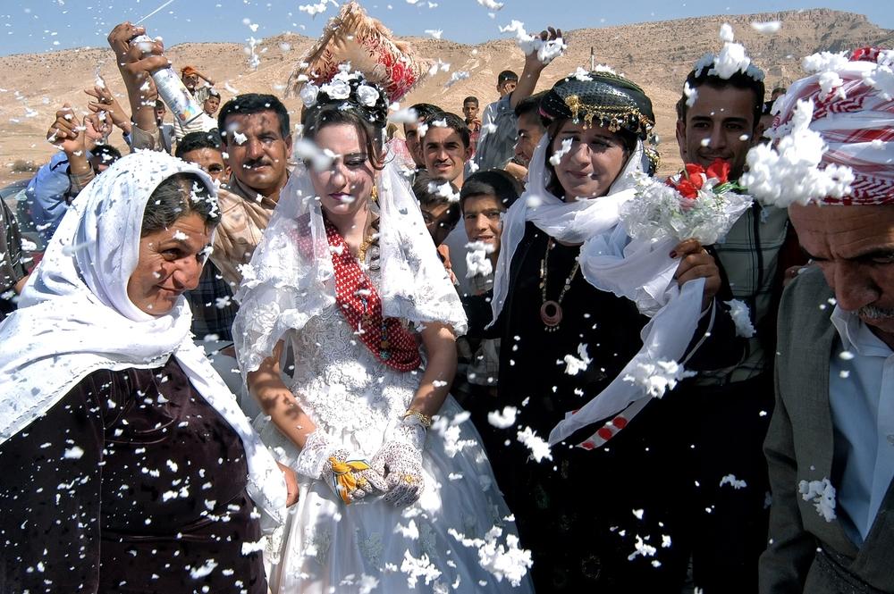 Yazidi Wedding. Northern Iraq