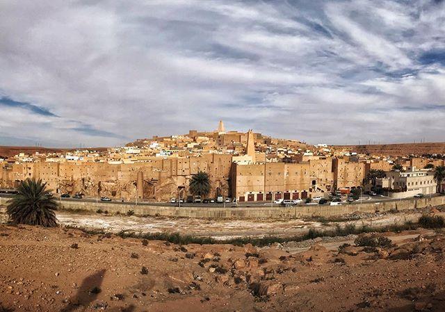 Ghardaia, Algeria.  #Algeria #ghardaia #whyiloveafrica #landscape #urbanlandscape #cityscape #iPhone7 #photooftheday #cities