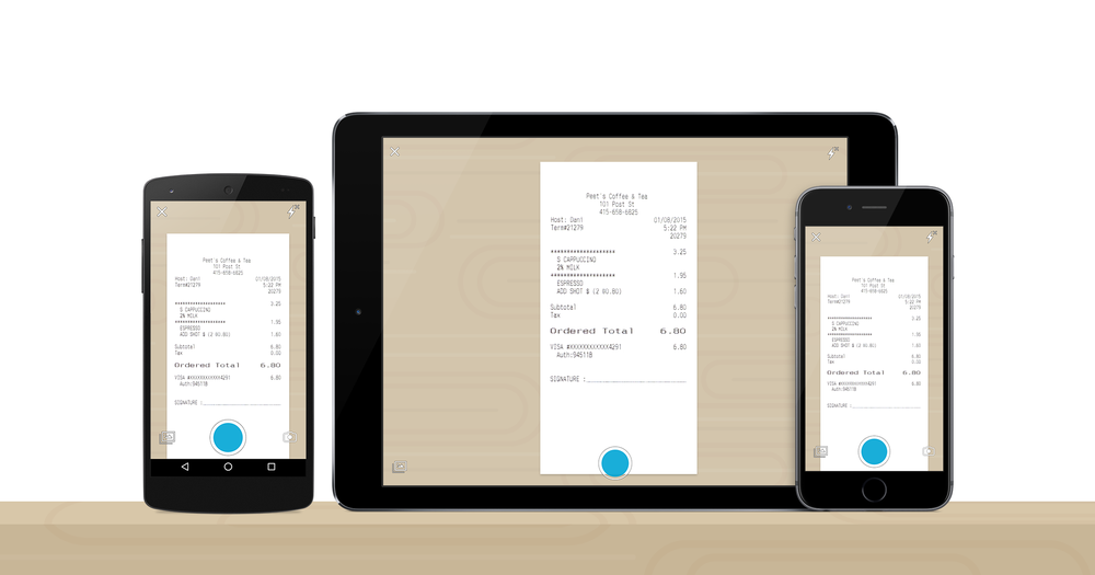 Step 3: SmartScan Receipts