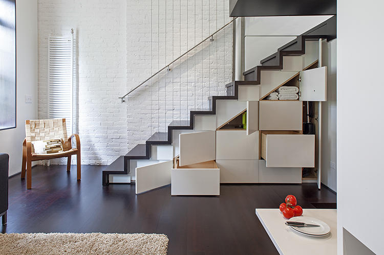 Micro Loft by  Specht Harpman Architects  via  Fast Co Design