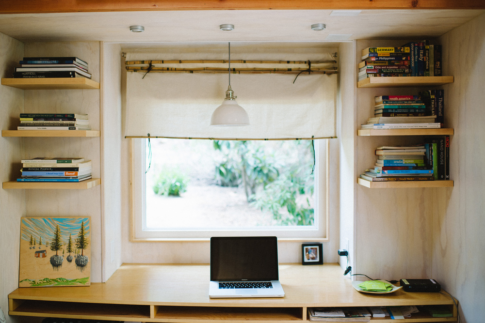 The Honest Home Podcast | Vina Lustado's Tiny Home | Photo by Tina Loveridge