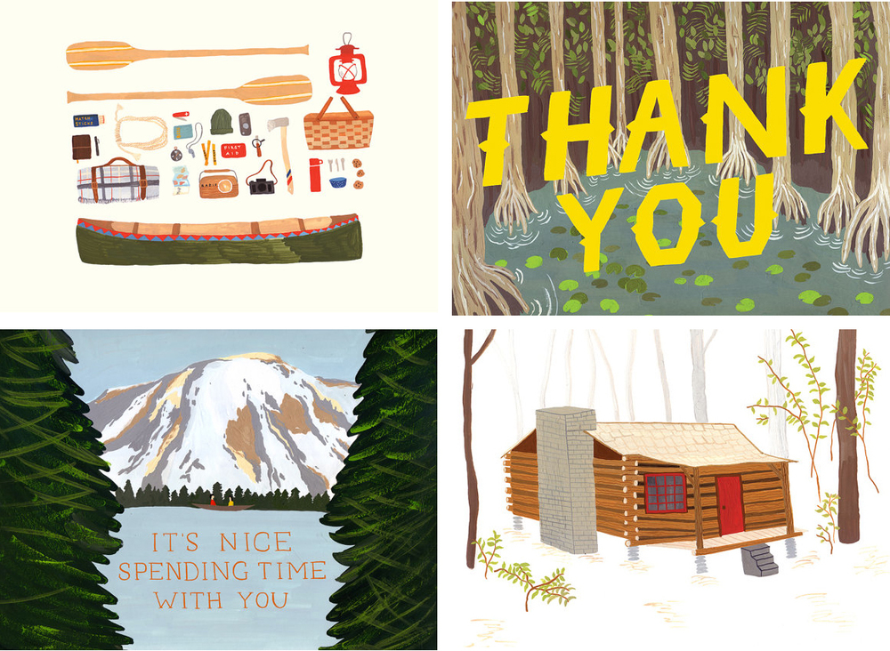 Prints and Cards by Small Adventure on Etsy