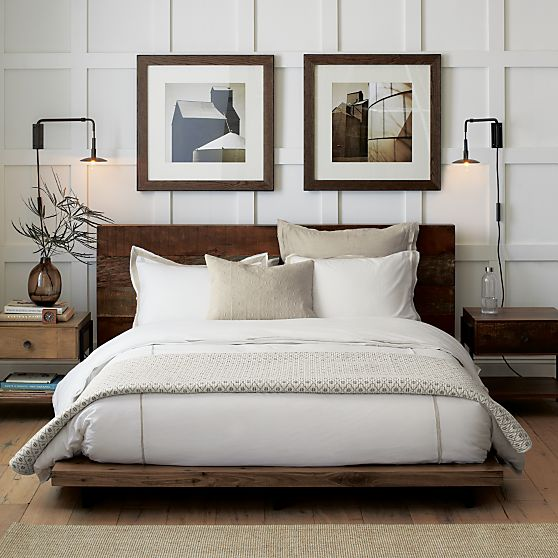 Atwood Bed by  Crate and Barrel