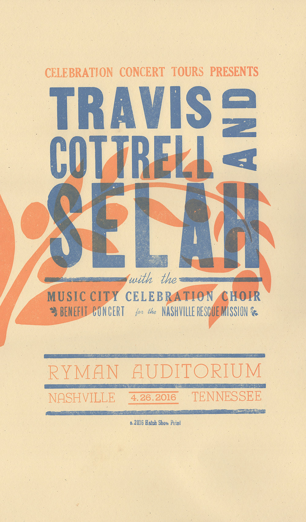 Travis Cottrell and Selah Poster