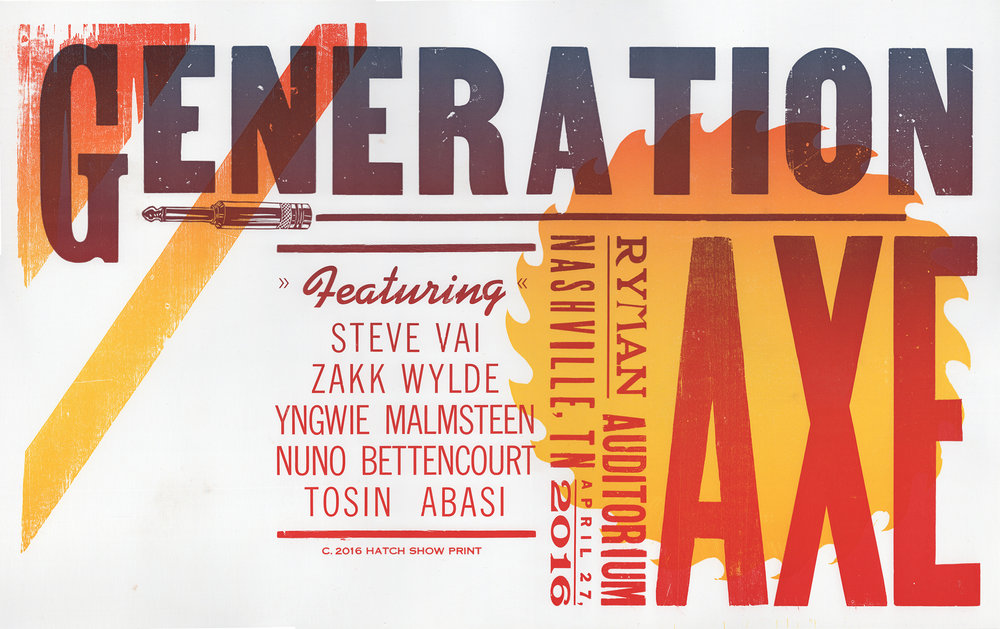 Generation Axe Poster