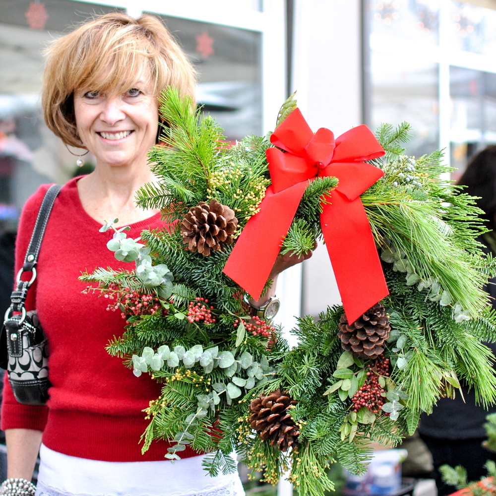 Wreath Making + 3 Course Gourmet Lunch December 2014