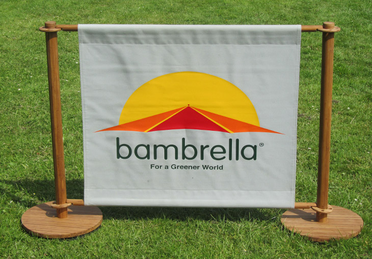 Banner Barriers/Full colour printing available.