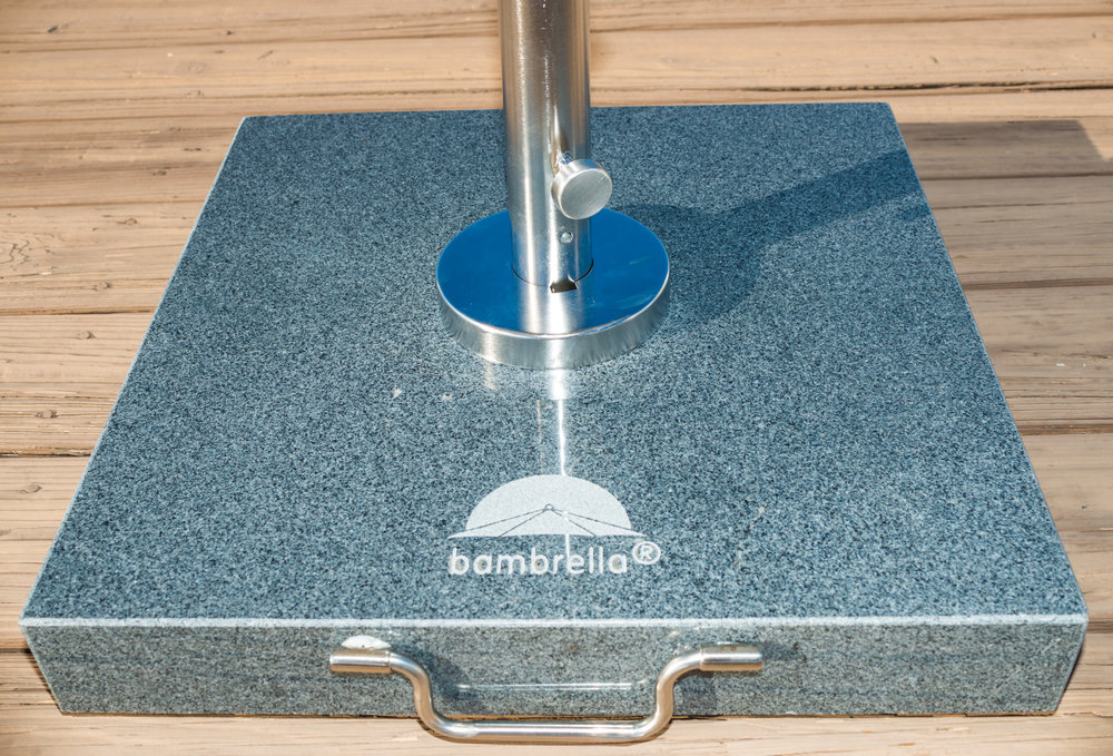 TH70/50/30 Granite Base  Available in 3 weights: 65 lbs., 110 lbs. & 150 lbs.