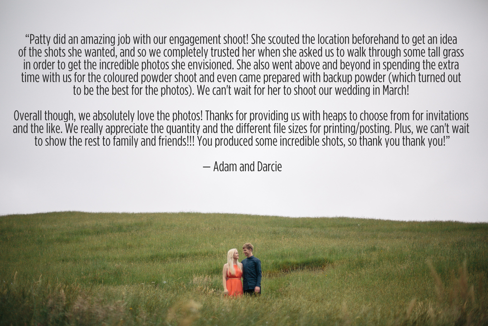 Feedback - Adam Darcie - Patty Lagera Photography