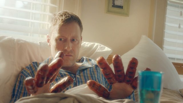 johnsonville sausages: bratfest in bed commercial