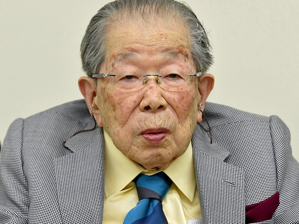 Dr. Shigeaki Hinohara worked into his 100s. KYODO/Reuters