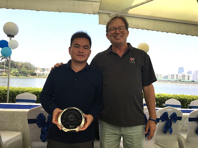 🏆 Dedication doesn't have an off-season. Celebrating ten years of Huang Kecheng's dedication to Linx. 🏆
