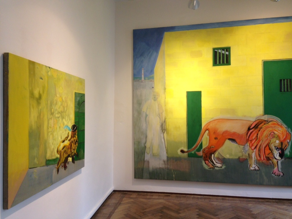 Here is the Peter Doig exhibition at the Palazzetto Tito in Venice for the 2015 Biennale.