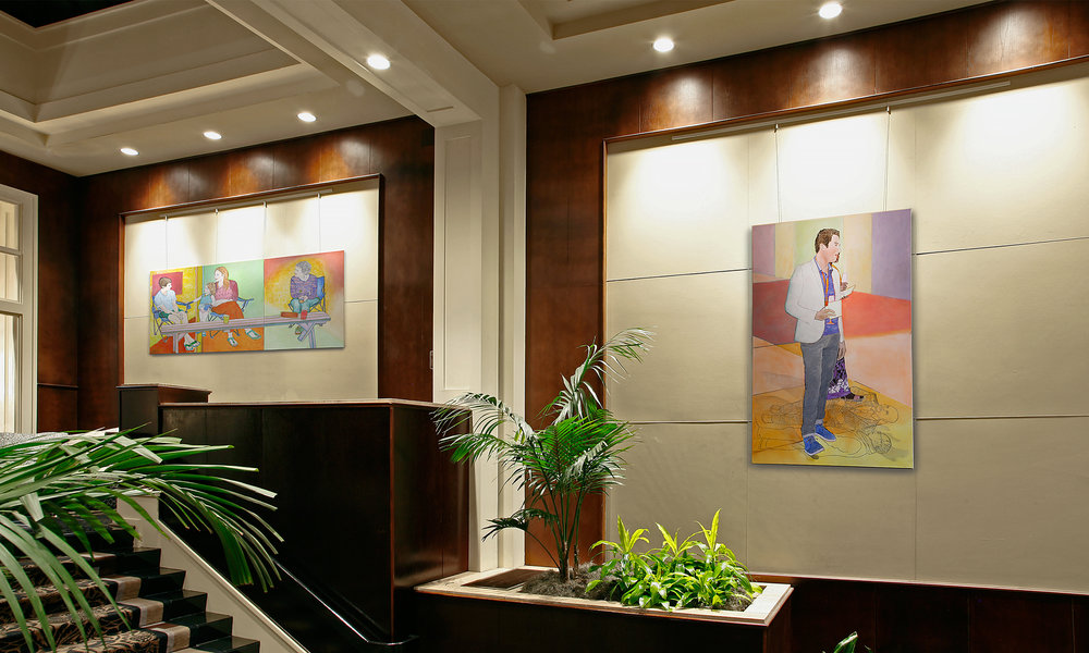 Exhibition at the Alexis Hotel, Seattle