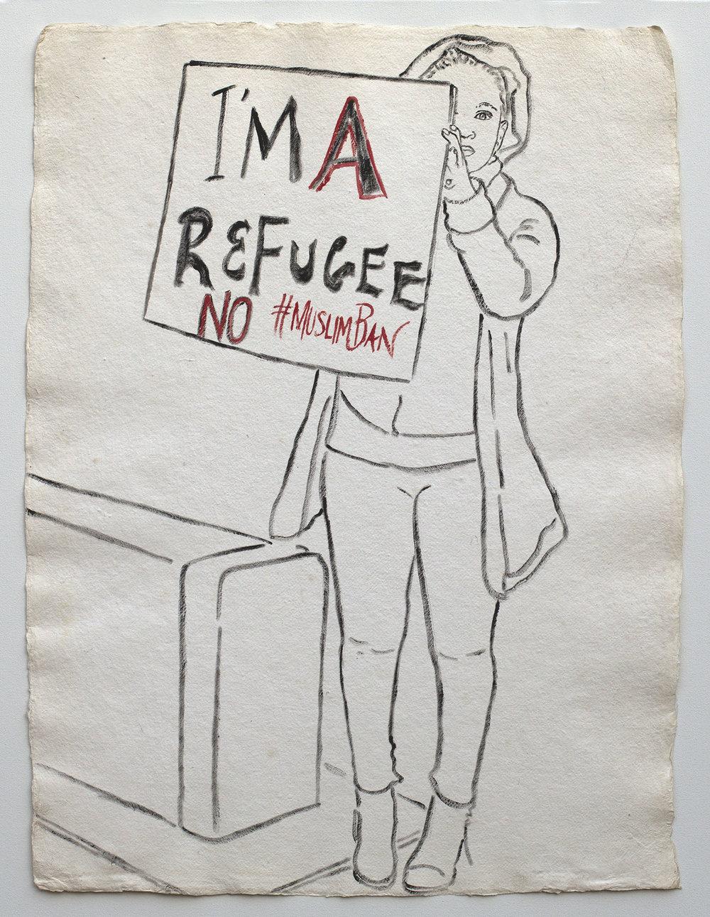 I'm A Refugee: No #MuslimBan