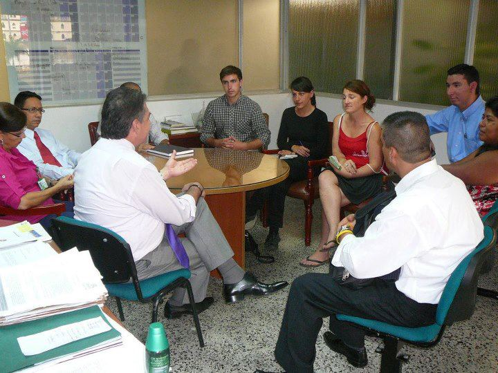 Meeting with government officials in Pereira
