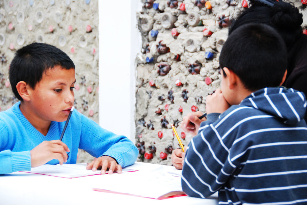 Focussing on homework during the After-School-Tutoring Program