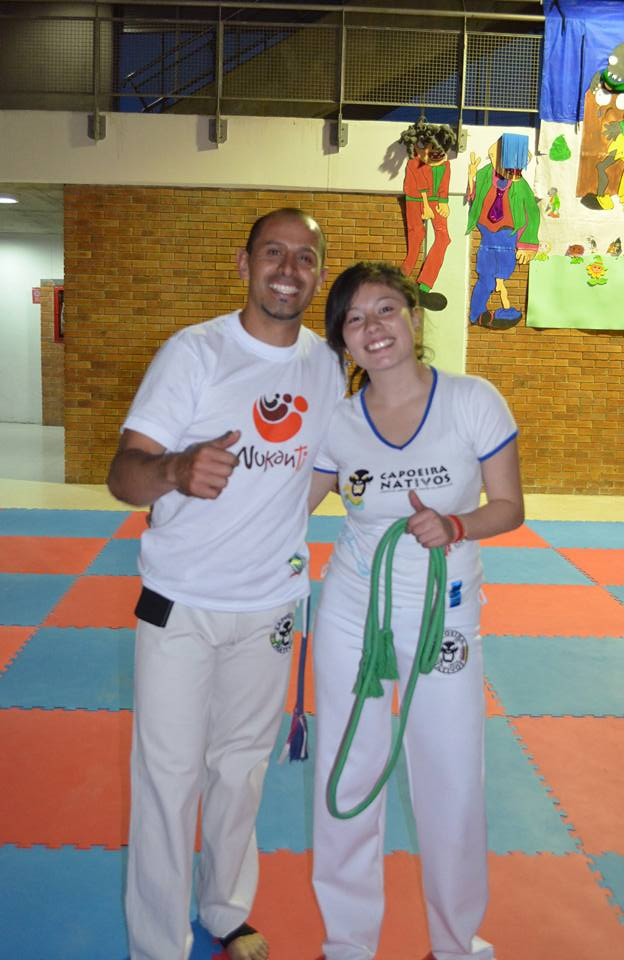 Capoeira is a very inclusive martial art where girls and women take part on a par with boys and men
