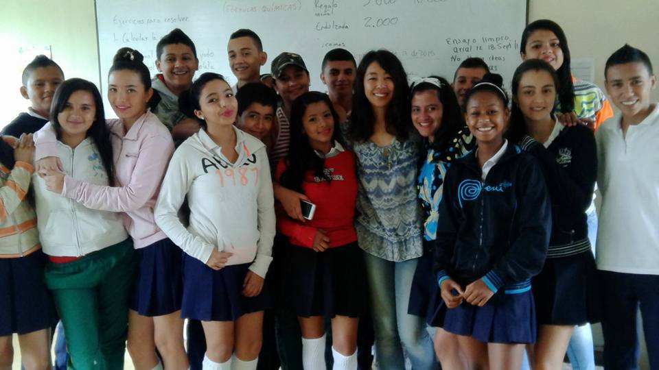 One of our volunteers in the two-year Bilingual Risaralda program, which was successfully completed in November 2015.