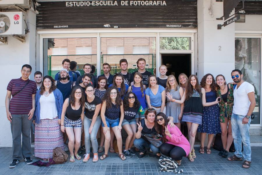 "Youth from the UK and Spain during the exchange ""Youth and Human Rights"" 1, June 2015"