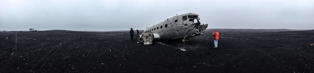 Solheimasandur, wrecked US Navy Aircraft