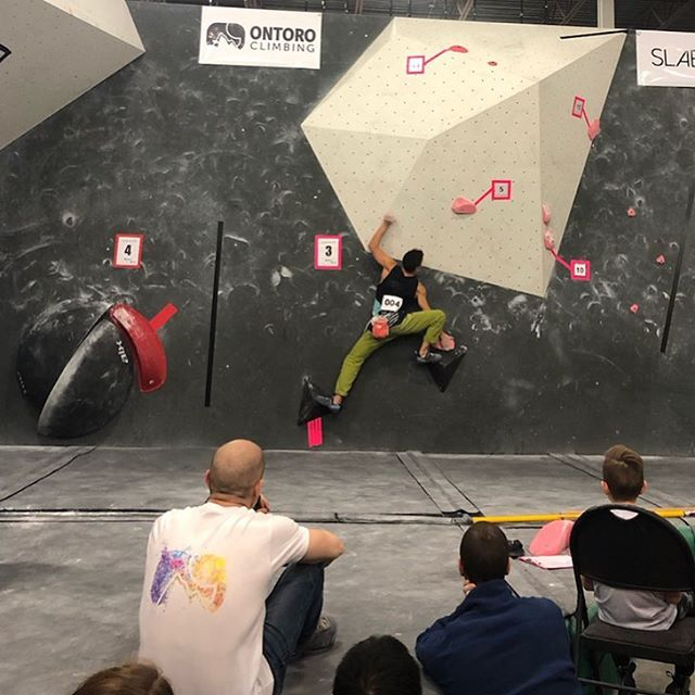 So proud to have sponsored @hubclimbing's SLABMASTER yesterday. Congrats to the winners @lucasuchida @indiana.chapman @florentbalsez 🥇🥈🥉🏆 #ontoroclimbing #ontoro #rockclimbing #bouldering #competition #plastic #indoorclimbing #madeincanada #canadian #shoplocal #supportlocal #rocks #girlsthatclimb #ontario #ontarioclimbing #slabmaster #picoftheday #photooftheday