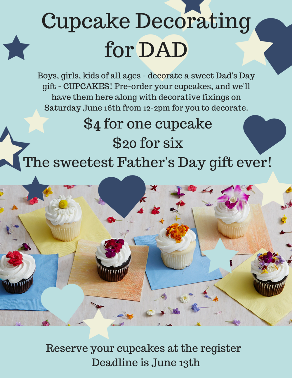 Reserve your cupcakes at the register - deadline is June 14th!.png