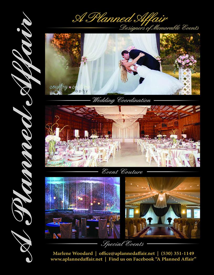 Redding Wedding Coordinator Bridal Guide A PLanned Affair Ad 2018.jpg