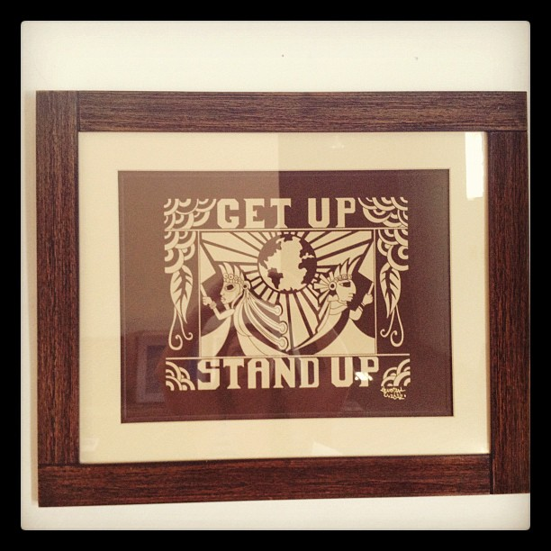 Get Up Stand Up! (Taken with  instagram )