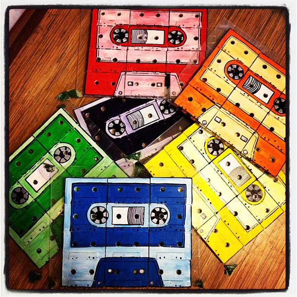 My love is like my mixed tapes (Taken with  instagram )
