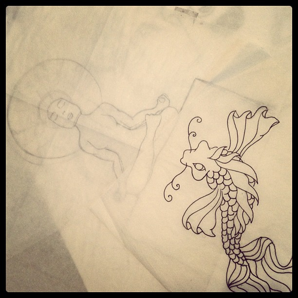 New works in progress (Taken with  instagram )