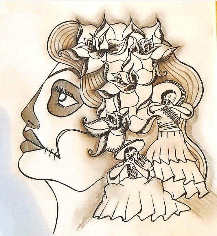 Las Adelitas (Pencil)